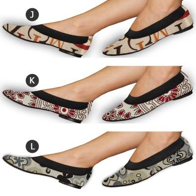 Zapatos Bailarinas Plegables de Mujer